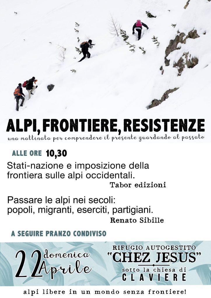 Alpi, frontiere, resistenze