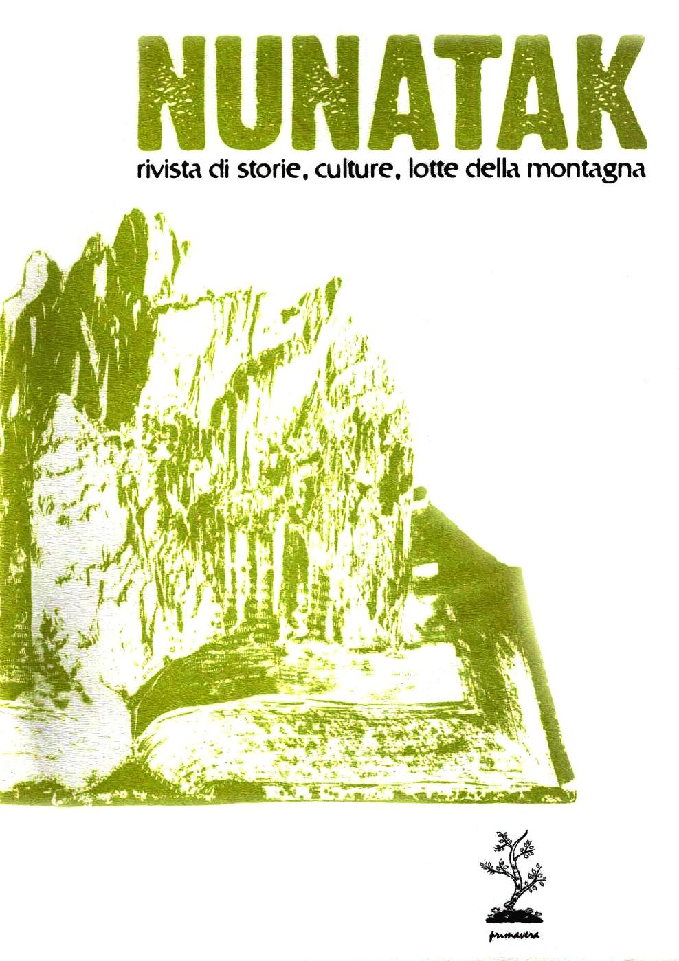 Nunatak n. 10 Book Cover
