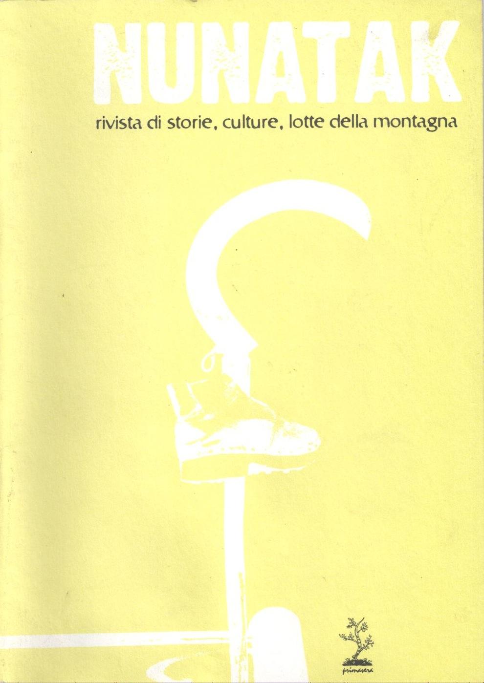 Nunatak n. 18 Book Cover