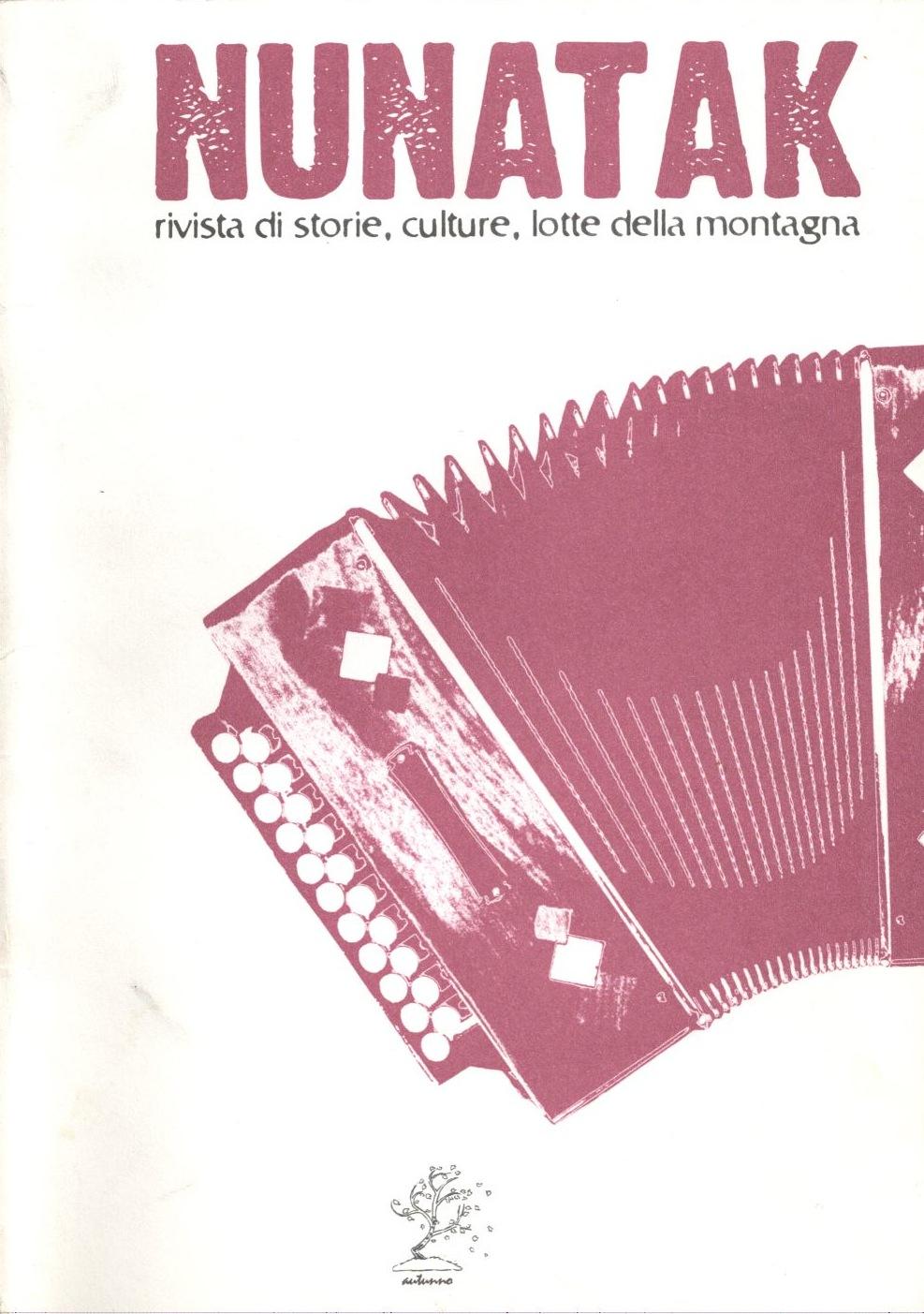 Nunatak n. 20 Book Cover